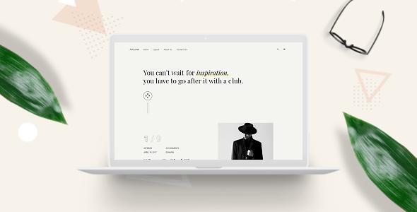 ArtLone –  Personal Blog & Magazine WordPress Theme