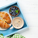 Coffee and croissants breakfast - PhotoDune Item for Sale