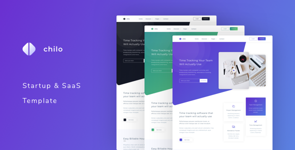 Chilo - Startup and SaaS Template