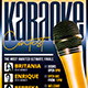 Karaoke Flyer Template V9 - GraphicRiver Item for Sale