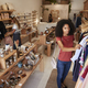 Customers Browsing In Independent Clothing And Gift Store - PhotoDune Item for Sale