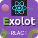 Exolot - React Multipurpose Landing Page Template - ThemeForest Item for Sale