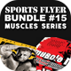 Sports Flyer Bundle 15 Muscle Series - GraphicRiver Item for Sale