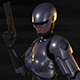 Robocop-Woman - 3DOcean Item for Sale