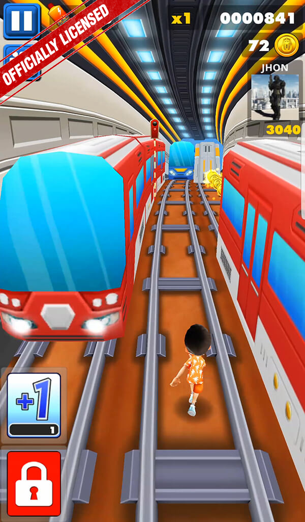 (Android And iOS) Bus & Subway Endless runner with Multiplayer