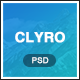 Clyro - Isometric Agency PSD Template