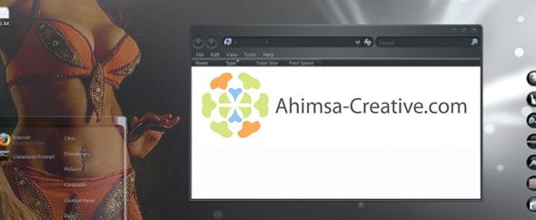 Ahimsa banner activeden