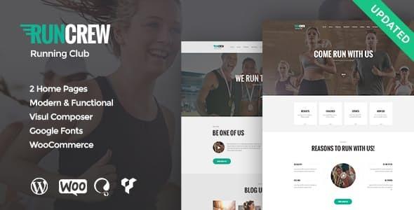 RunCrew | Running Club, Marathon & Sports WordPress Theme