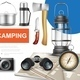 Realistic Camping Elements Collection - GraphicRiver Item for Sale