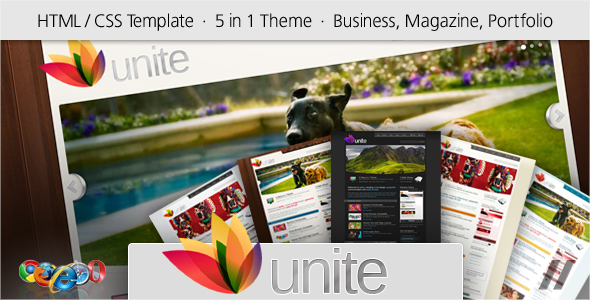 Free Download Unite - HTML Business, Magazine, Community Site Nulled Latest Version