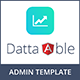 Datta Able - Angular 7 Admin Template