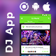 DJ events Booking Android + iOS App Template | HTML + Css IONIC 3 | DJWorld - CodeCanyon Item for Sale