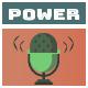 Stylish Upbeat Power Rock Logo