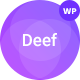 Deef - App Landing WordPress Theme