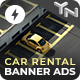 Car Rental - Animated AMPHTML Banners (GWD, AMPHTML) - CodeCanyon Item for Sale
