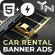 Car Rental (2-in-1) - HTML5 & AMP HTML Animated Banners (GWD) - CodeCanyon Item for Sale