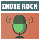 Stylish Upbeat Indie Rock Logo