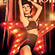 Burlesque and Cabaret Flyer - GraphicRiver Item for Sale