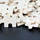 Top view of Jigsaw puzzle pieces-4 - PhotoDune Item for Sale