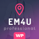 EM4U - Multiple Event Conference Ticket, QR Code Calendar WordPress Theme - ThemeForest Item for Sale