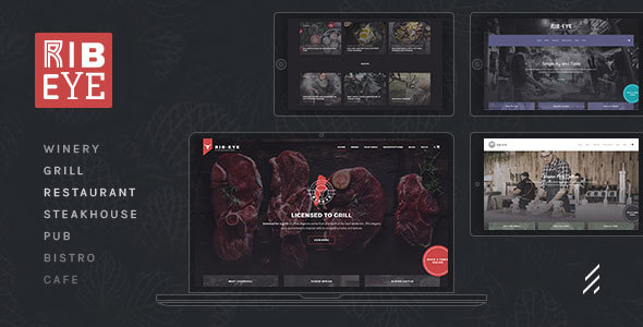 Download Rib-Eye — Steakhouse WordPress Theme nulled 01 RibEye Steakhouse WordPress Theme