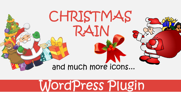 Christmas Rain - WordPress Plugin