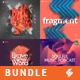 Electronic Music Album Cover Artwork Templates Bundle 10 - GraphicRiver Item for Sale