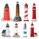 Lighthouses Collection - GraphicRiver Item for Sale
