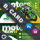 Vehichle Mower Business Card Templates - GraphicRiver Item for Sale