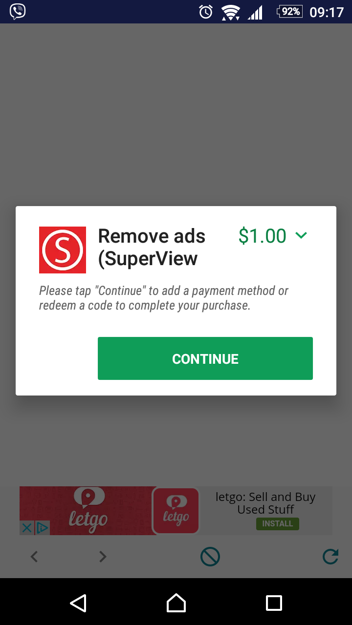 remove adds android