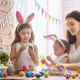 family preparing for Easter - PhotoDune Item for Sale