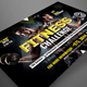 Fitness Challenge Flyer Template - GraphicRiver Item for Sale