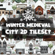 Winter Medieval City Game Tileset - GraphicRiver Item for Sale