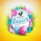 Vector Illustration of Happy Easter Holiday - GraphicRiver Item for Sale