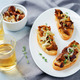 Fried chantarelle onion toasts - PhotoDune Item for Sale