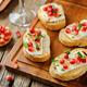 Pomegranate Brie balsamic crostini - PhotoDune Item for Sale