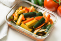 Korea style kimchi pickled cucumbers with carrots salad - PhotoDune Item for Sale