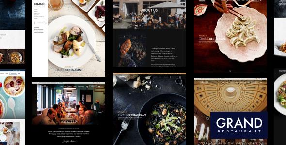Wielka restauracja | Restauracja WordPress dla restauracji