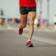 man runner athlete in red t-shirt - PhotoDune Item for Sale