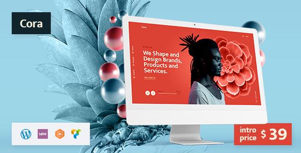 Cora | A Creative MultiPurpose WordPress Theme