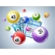 Lotto Balls and Lottery Tickets with Numbers - GraphicRiver Item for Sale