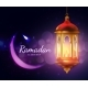 Ramadan Lantern with Crescent Moon - GraphicRiver Item for Sale