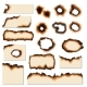 Paper Burnt Holes and Scraps Edges Scorched - GraphicRiver Item for Sale