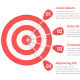 Target with Four Arrows - GraphicRiver Item for Sale