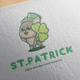 ST Patrick Logo Design - GraphicRiver Item for Sale