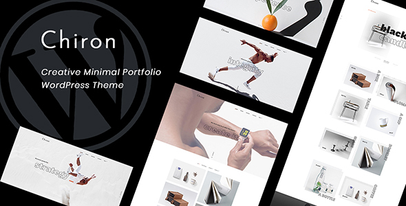 Chiron - Creative Minimal Portfolio WordPress Theme