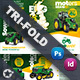 Vehichle Mower Tri-Fold Templates - GraphicRiver Item for Sale