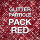 Glitter Particle Pack Red - VideoHive Item for Sale