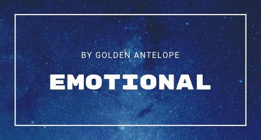 Emotional by GoldenAntelope