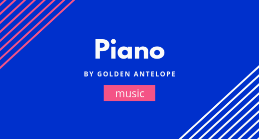 Piano by GoldenAntelope
